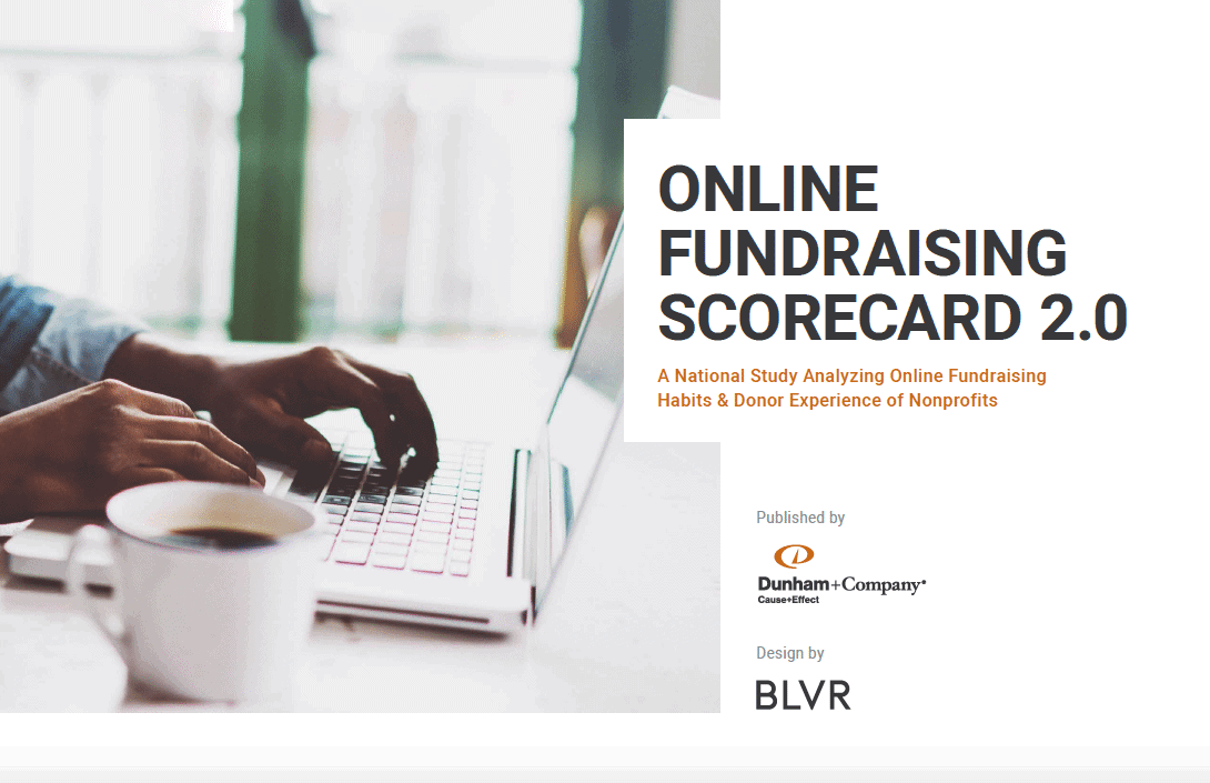 The Online Fundraising Scorecard 2.0 - Cover