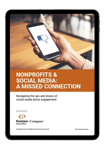 NONPROFITS & SOCIAL MEDIA: A MISSED CONNECTION