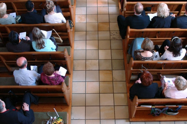 Giving To Religion Declining