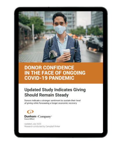 Donor Confidence Strong In The Face Of Covid19