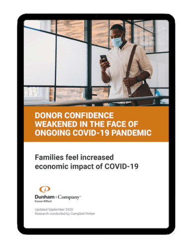 Donor Confidence Weakened In The Face Of Ongoing Covid 19 Pandemicpng
